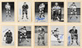 Autographs:Sports Cards, Signed 1944 - 1963 Beehive Hockey (Group Two) New York Ran...