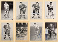 Autographs:Sports Cards, Signed 1944 - 1963 Beehive Hockey (Group Two) Detroit Red Wings (68). ...