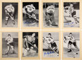 Autographs:Sports Cards, Signed 1944 - 1963 Beehive Hockey (Group Two) Boston Bruin...