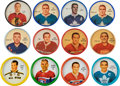 Hockey Cards:Sets, 1960 - 1968 Salada/Shirriff Hockey Coins Collection (150+) With Complete Set. ...