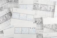 Jim Davis and Studio Garfield Daily Comic Strip Preliminary Original Art Group of 144 (United Feature Syndicate, 1... (T...