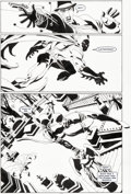 Original Comic Art:Panel Pages, Tim Sale Batman: The Long Halloween #5 Story Page 9 Original Art (DC Comics, 1997)....