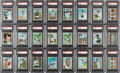 Baseball Cards:Unopened Packs/Display Boxes, 1970 Topps Baseball (6th Series) PSA-Graded Cello Packs (24) Plus Empty Boxes and Retail Display Box Collection (57 Items). ...