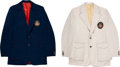 Olympic Collectibles:Autographs, 1972 Olympics Opening Ceremonies Worn Sport Coats Lot of 2. ...