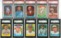 "Baseball Cards:Sets, 1960 Fleer ""Baseball Greats"" High-Grade Near Set (67/79). ..."