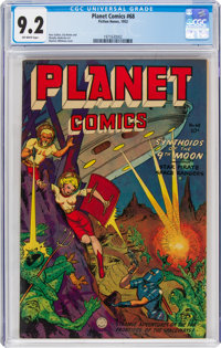 Planet Comics #68 (Fiction House, 1952) CGC NM- 9.2 Off-white pages