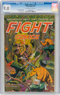 Golden Age (1938-1955):Adventure, Fight Comics #31 (Fiction House, 1944) CGC VF/NM 9.0 Off-white to white pages....