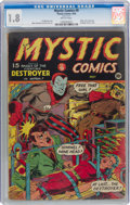 Golden Age (1938-1955):Superhero, Mystic Comics #9 (Timely, 1942) CGC GD- 1.8 Brittle pages....