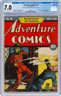 Golden Age (1938-1955):Superhero, Adventure Comics #40 (DC, 1939) CGC FN/VF 7.0 Cream to off-white pages....
