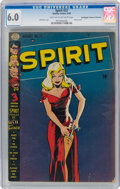 Golden Age (1938-1955):Superhero, The Spirit #22 Don/Maggie Thompson Collection Pedigree (Quality, 1950) CGC FN 6.0 Light tan to off-white pages....