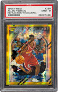 Basketball Cards:Singles (1980-Now), 1996 Finest Allen Iverson (Refractor w/Coating) #280 PSA Mint 9....