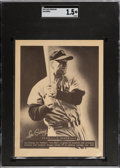 Baseball Cards:Singles (1940-1949), 1948 Leaf Premiums Lou Gehrig SGC Fair 1.5 - Only Ten SGC-Graded Examples. ...