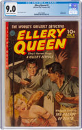 Golden Age (1938-1955):Crime, Ellery Queen #2 (Ziff-Davis, 1952) CGC VF/NM 9.0 Off-white to white pages....