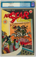 Golden Age (1938-1955):Superhero, All Star Comics #24 Rockford Pedigree (DC, 1945) CGC NM 9.4 Off-white to white pages....