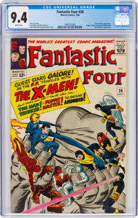 Fantastic Four #28 (Marvel, 1964) CGC NM 9.4 White pages