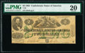 Confederate Notes:1862 Issues, T43 $2 1862 PF-1 Cr. 338 PMG Very Fine 20.. ...