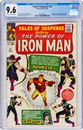 Silver Age (1956-1969):Superhero, Tales of Suspense #57 (Marvel, 1964) CGC NM+ 9.6 Off-white to white pages....