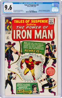 Tales of Suspense #57 (Marvel, 1964) CGC NM+ 9.6 Off-white to white pages