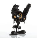 Collectible, Matt Gondek X DesignerCon. Aggression (Black and Gold), 2018. Painted cast resin. 10 inches (25.4 cm) high. Edition 100...