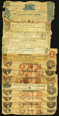 A Rough Assortment of Obsolete Notes from Virginia. ... (Total: 14 notes)