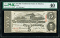 Confederate Notes:1863 Issues, T60 $5 1863 PF-20 Cr. 458 PMG Extremely Fine 40.. ...
