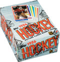 Hockey Cards:Unopened Packs/Display Boxes, 1986-87 Topps Hockey Wax Box With 36-Unopened Packs - Roy Rookie Year! ...