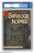 Silver Age (1956-1969):Mystery, Four Color #1169 New Adventures of Sherlock Holmes (Dell, 1961) CGCNM- 9.2 Off-white pages. Painted cover. Only one copy of...