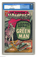 Silver Age (1956-1969):Horror, This Magazine Is Haunted (second series) V2#14 Bethlehem pedigree(Charlton, 1957) CGC NM 9.4 Cream to off-white pages. Stev...
