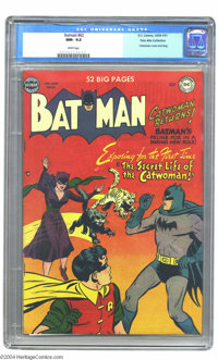 Batman #62 Palo Alto pedigree (DC, 1950) CGC NM- 9.2 White pages. With the Catwoman movie hitting theaters just days bef...
