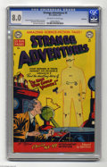 Golden Age (1938-1955):Horror, Strange Adventures #5 Bethlehem pedigree (DC, 1951) CGC VF 8.0Off-white to white pages. If you want to see a fresh twist on...
