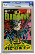 Silver Age (1956-1969):War, Blackhawk #242 Curator pedigree (DC, 1968) CGC NM 9.4 White pages. This issue marked the Blackhawks' return to their origina...