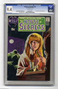 Bronze Age (1970-1979):Horror, House of Secrets #92 (DC, 1971) CGC NM 9.4 Off-white pages. Themost valuable DC comic of the Bronze Age doesn't star Superm...