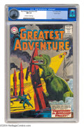 Silver Age (1956-1969):Science Fiction, My Greatest Adventure #79 Pacific Coast pedigree (DC, 1963) CGC NM9.4 Off-white to white pages. T. Rex wrecks his way throu...
