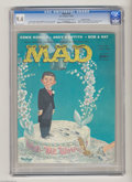 Silver Age (1956-1969):Humor, Mad #40 Gaines File pedigree (EC, 1958) CGC NM 9.4 Off-white to white pages. Bill Gaines and company assembled a fine group ...