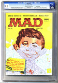 Silver Age (1956-1969):Humor, Mad #41 Gaines File pedigree (EC, 1958) CGC NM+ 9.6 Off-white to white pages. Neuman artist extraordinaire Kelly Freas paint...