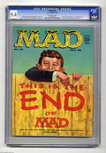 Silver Age (1956-1969):Humor, Mad #46 (EC, 1959) CGC NM 9.4 Off-white pages. You would think there are nicer copies of this mag out there, right? Well, yo...