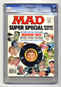 "Magazines:Mad, Mad Super Special #26 Gaines File pedigree (EC, 1978) CGC NM/MT9.8. Includes the vinyl record ""Makin' Out."" Mort Drucker co..."