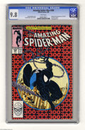 Modern Age (1980-Present):Superhero, The Amazing Spider-Man #300 (Marvel, 1988) CGC NM/MT 9.8 Whitepages. Overstreet hasn't released a Top Ten ranking of the mo...