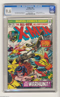 Bronze Age (1970-1979):Superhero, X-Men #95 (Marvel, 1975) CGC NM+ 9.6 Off-white to white pages. Thunderbird, we hardly knew ye. The third appearance of the X...