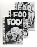 Modern Age (1980-Present):Alternative/Underground, The Complete Foo Artist's Proof Group (Bijou, 1980) Condition:Average FN/VF. Do you Foo? Few do! We're of course talking ab...(Total: 6 items Item)