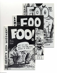 The Complete Foo Artist's Proof Group (Bijou, 1980) Condition: Average FN/VF. Do you Foo? Few do! We're of course talkin...