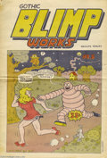 Silver Age (1956-1969):Alternative/Underground, Gothic Blimp Works #5 (East Village Other, 1969) Condition: VG+. Avery solid copy of this early Underground. The one thing ...