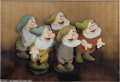 "Animation Art:Miscellaneous, Walt Disney Studios -- ""Snow White and the Seven Dwarfs"" Original Hand Painted Production Cel with Courvoisier Background. (19..."