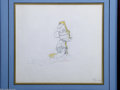 "Animation Art:Miscellaneous, Walt Disney Studios -- ""Fantasia"" Original Pencil AnimationDrawing. (1940). Mickey Mouse is dressed as the Sorcerer's Appre..."