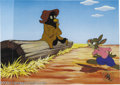 """Animation Art:Miscellaneous, Walt Disney Studios -- """"Song Of The South"""" Hand Painted Limited Edition Cel. (1986). """"Tar Baby."""" Here is Brer Rabbit and the..."""