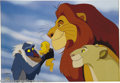 "Animation Art:Miscellaneous, Walt Disney Studios -- ""The Lion King"" Hand Painted Limited EditionCel. (1994). ""Circle Of Life."" From the dramatic musical..."