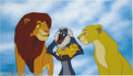 "Animation Art:Miscellaneous, Walt Disney Studios -- ""The Lion King"" Hand Painted Limited EditionCel. (1994). ""Family Pride."" This fine cel showcases the..."