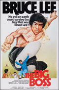 "Movie Posters:Action, The Big Boss (Golden Harvest, R-1980s). Rolled, Very Fine+. Hong Kong One Sheet (26"" X 39.75""). Action.. ..."