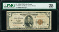Small Size:Federal Reserve Bank Notes, Fr. 1850-H $5 1929 Federal Reserve Bank Note. PMG Very Fine 25.. ...