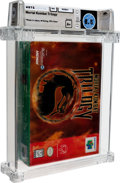 Video Games:Nintendo, Mortal Kombat Trilogy Wata 8.5 A+ Sealed N64 Midway 1996 USA....